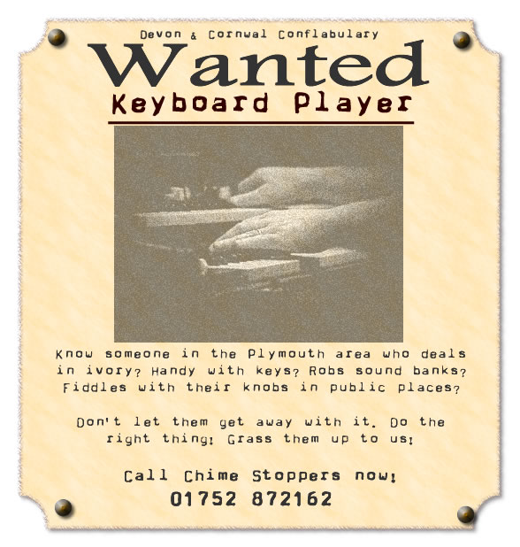 keyboard player wanted plymouth devon uk